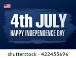fourth of july independence day | Shutterstock .eps vector #422455696