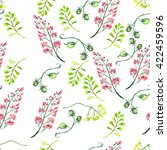 seamless vintage pattern  ... | Shutterstock . vector #422459596