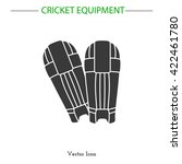 batting pads icon. batting pads ...