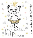 Cute Little Bear Princess