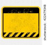 danger  sign | Shutterstock .eps vector #422479348