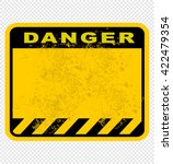 danger  sign | Shutterstock .eps vector #422479354