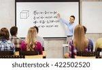 education  high school ...   Shutterstock . vector #422502520