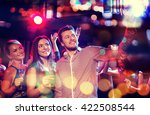 party  holidays  technology ... | Shutterstock . vector #422508544