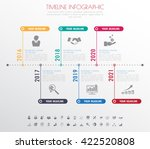 business infographic template.... | Shutterstock .eps vector #422520808