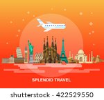 high quality  detailed most... | Shutterstock .eps vector #422529550