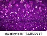 Purple Glitter Bokeh Texture...