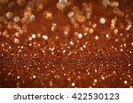 orange glitter bokeh texture...   Shutterstock . vector #422530123