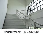 emergency staircase building | Shutterstock . vector #422539330