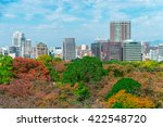 stunning view from maizuru park ... | Shutterstock . vector #422548720