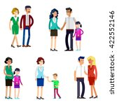detailed character people... | Shutterstock .eps vector #422552146
