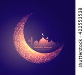 Creative Moon And Glowing...