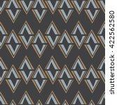 seamless abstract vector... | Shutterstock .eps vector #422562580