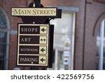 Main Street Sign Post  Berlin ...
