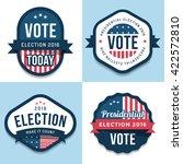 set of badges  banner  labels ... | Shutterstock .eps vector #422572810