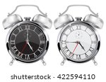 alarm clock. black and white... | Shutterstock .eps vector #422594110