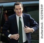 Small photo of LONDON - NOV 22, 2015: George Osborne MP, British Conservative Party politician Chancellor of the Exchequer attends the BBC Andrew Marr Show on Nov 22, 2015 in London