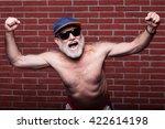 elderly age winning... | Shutterstock . vector #422614198