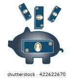 money storage | Shutterstock .eps vector #422622670