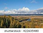 Teton Fall Landscape From Snak...
