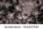 abstract gray kaleidoscope... | Shutterstock . vector #422637034