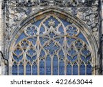 Detail Of Window Decoration Of...