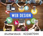 web page design development