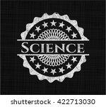 science written on a chalkboard | Shutterstock .eps vector #422713030