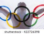 rio de janeiro   february 3 ... | Shutterstock . vector #422726398