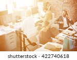 business corporation... | Shutterstock . vector #422740618