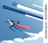 vector illustration super... | Shutterstock .eps vector #422743864