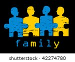 illustration of family  concept ... | Shutterstock .eps vector #42274780