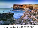 azure window in the island of... | Shutterstock . vector #422755888
