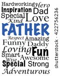 an illustration with words... | Shutterstock .eps vector #422756236