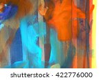abstract paint background... | Shutterstock . vector #422776000