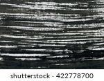 black ink background with... | Shutterstock . vector #422778700