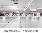 cctv camera in underground... | Shutterstock . vector #422781178