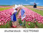Happy Dutch Children Playing I...