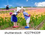 happy dutch children playing in ... | Shutterstock . vector #422794339