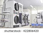 washing machine in dry cleaning | Shutterstock . vector #422806420