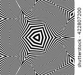 black and white abstract... | Shutterstock .eps vector #422807200