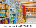 Stock photo blurred background pet food shop 422809156