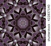 fabulous fractal background.... | Shutterstock . vector #422837140