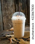cold coffee | Shutterstock . vector #422867830