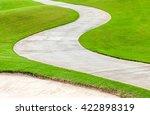 Path Curving Through Green...