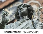 monument of great astronomer... | Shutterstock . vector #422899084