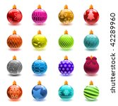 Christmas Ball Set