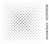 circle halftone dots vector... | Shutterstock .eps vector #422903038