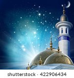 ramadan kareem background... | Shutterstock . vector #422906434