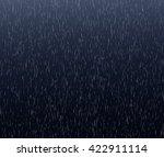 heavy rain background. abstract ... | Shutterstock . vector #422911114